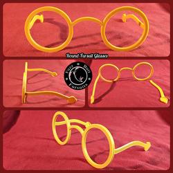 Round Fursuit Glasses