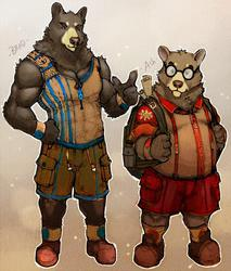 Brad and Ash concept