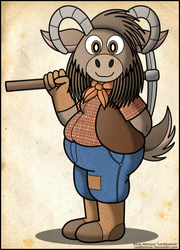 William, the Chubby Goat Prospector (2016)
