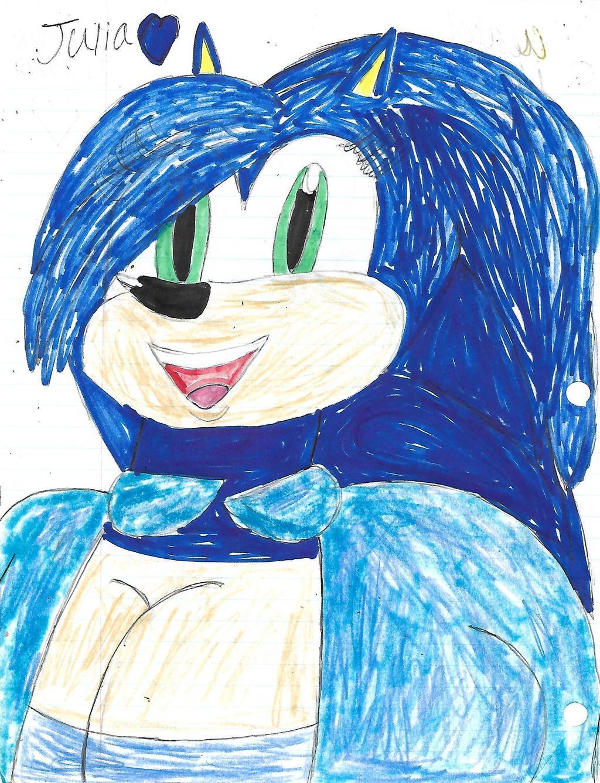 Julia the hedgehog