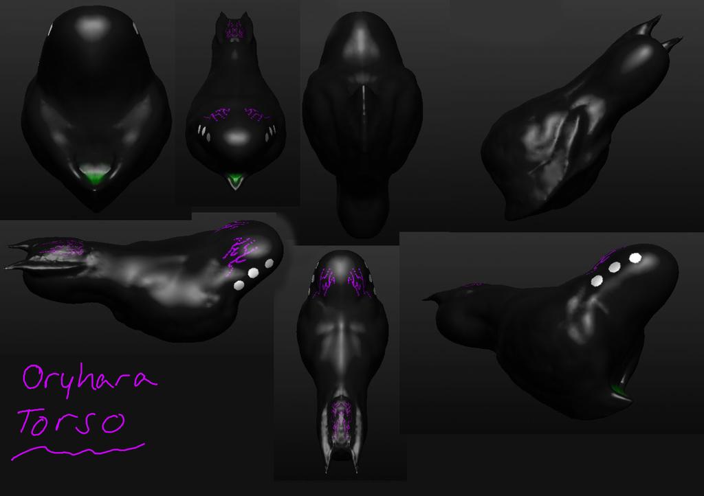 oryhara torso 3D