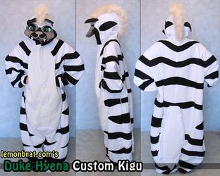 Duke Hyena Custom Kigu