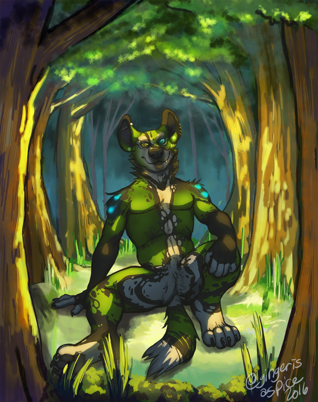 Most recent image: Forest Clearing (SFW)