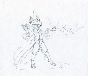 Bonesnacker the Black Mage