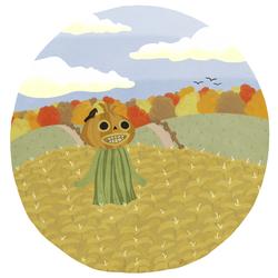 a spookcrow