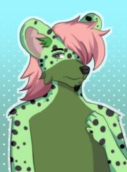 Green Hyena