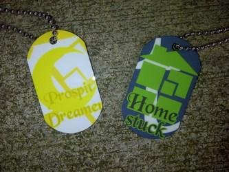 Homestuck Dog Tags