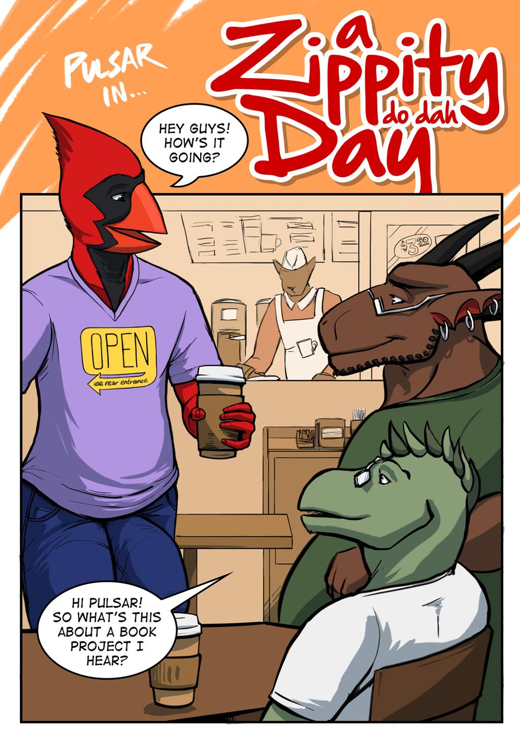 A Zippity Do Dah Day - Page 1 of 7