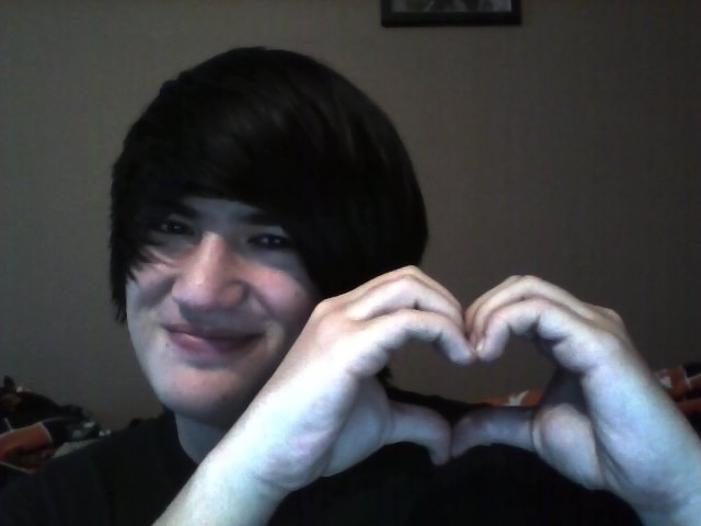 Most recent image: Me Being All Heartsy