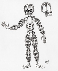 BDE Endoskeleton Official Ref (uncolored)