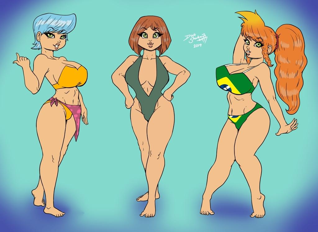 [Comm] Gene-sis in Bikinis!