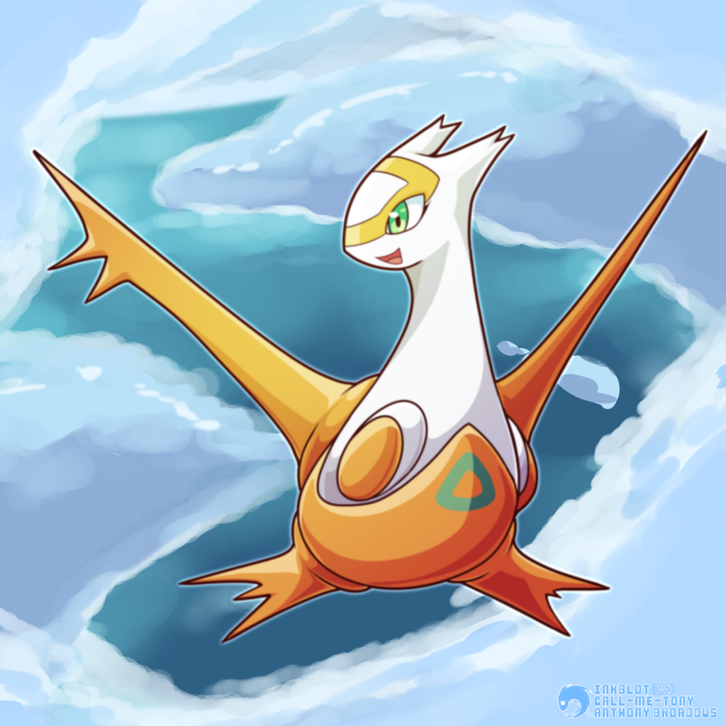 #380 - The Eon Pokemon - Latias (Shiny)