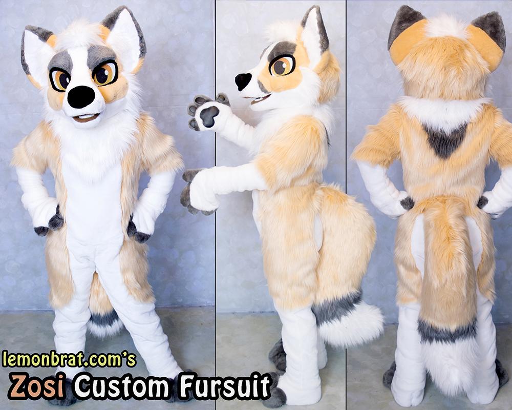 Zosi Custom Fursuit