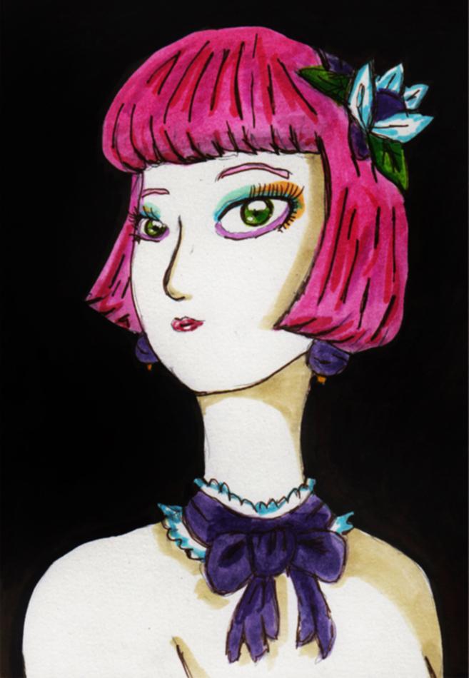 Portrait of Lenna Charlotte Tycoon