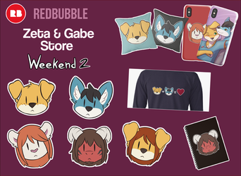 Weekend 2 Stickers and More!