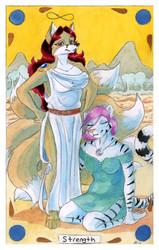 Tarot Card: Strength for Ithunna