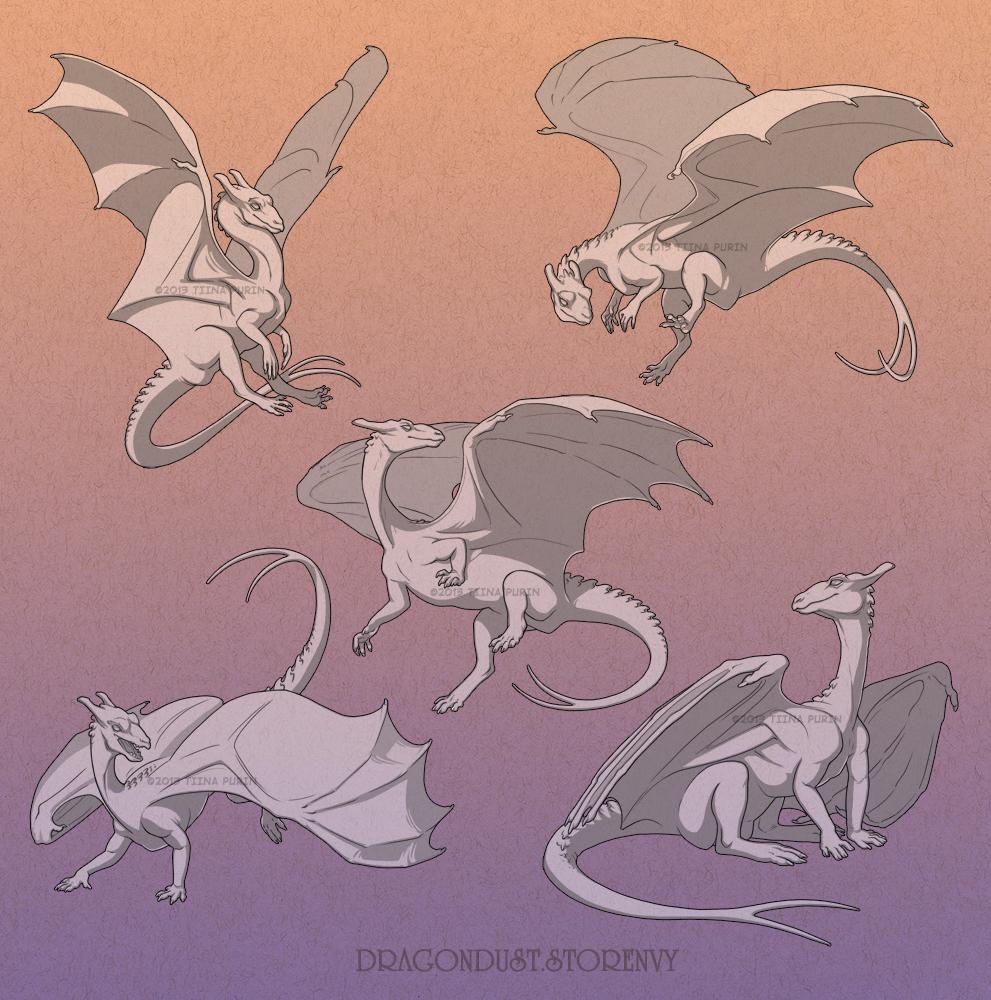 Juvenile Pern Dragons