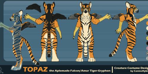 Topaz the Gryphon