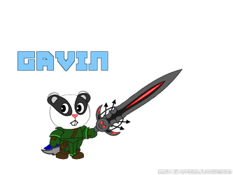 Gavin the Badger (HTF Version)