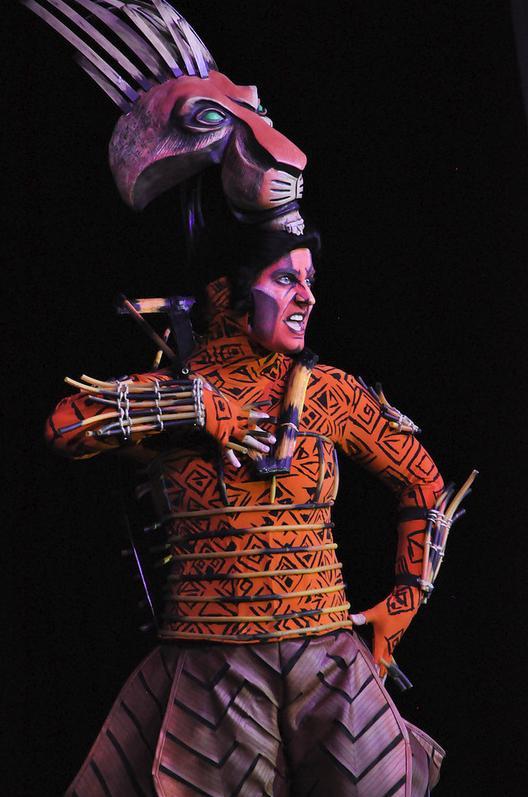 Scar - Lion King Musical  - SDCC Masquerade 2012