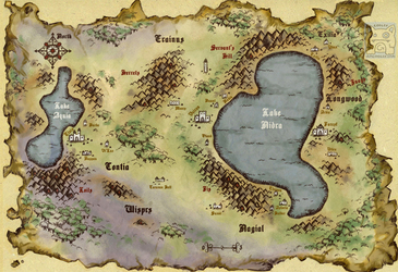 Fantasy Map Commission