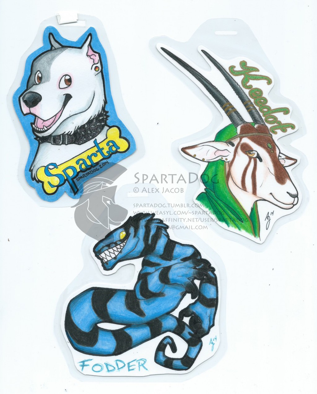 Traditional Badge Examples