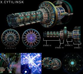 Lejendairidan Planetary-Grade Guided Plasma Element