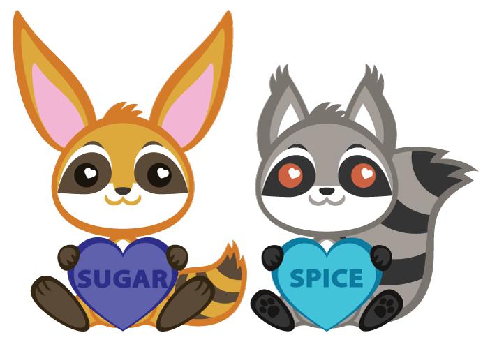 Featured image: Raccoon Hybrid Valentines :)