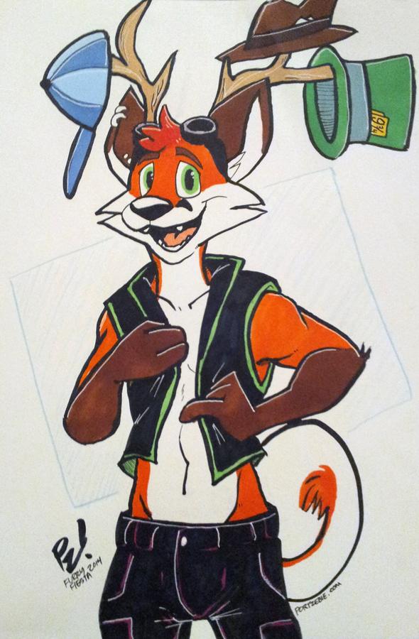 [TFF2014] Hat Rack Fox