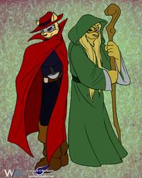 Brothers, Swordmaster D and Lyserdigi