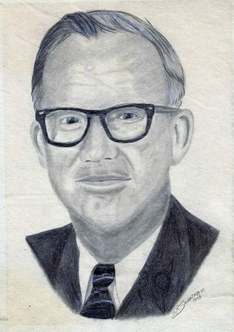 Personal -- My Father in Pencil