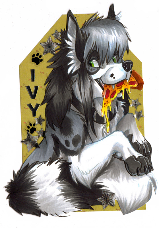Ivy Badge