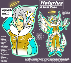 Holyrius, #2 born (Light/Holy) +Ref+