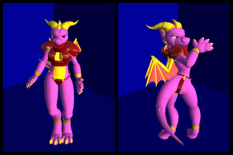 Most recent image: Female Spyro Chibi avatar