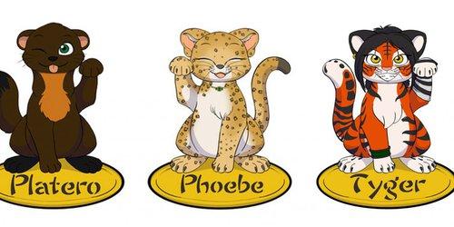 Lucky Cat Badges - Batch 10