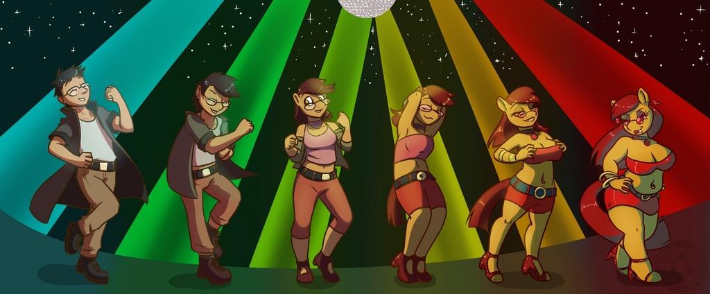 [Comm] Let's dance