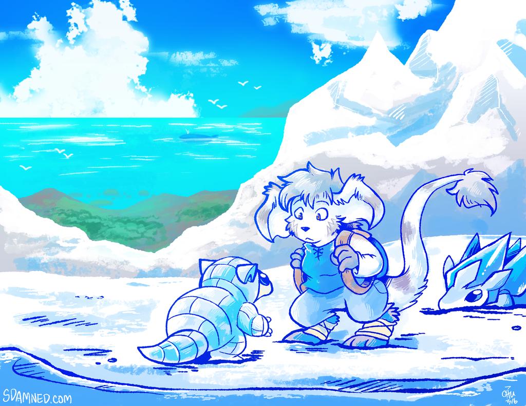 Winter Island Encounter