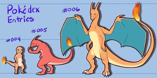 PokeDex Project Entry : 004 005 006