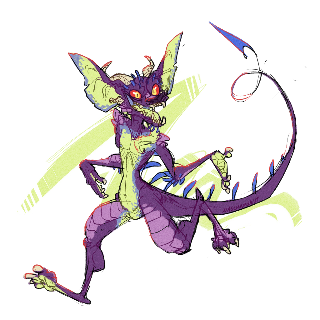 [NOT MY ART] ratt by nascha