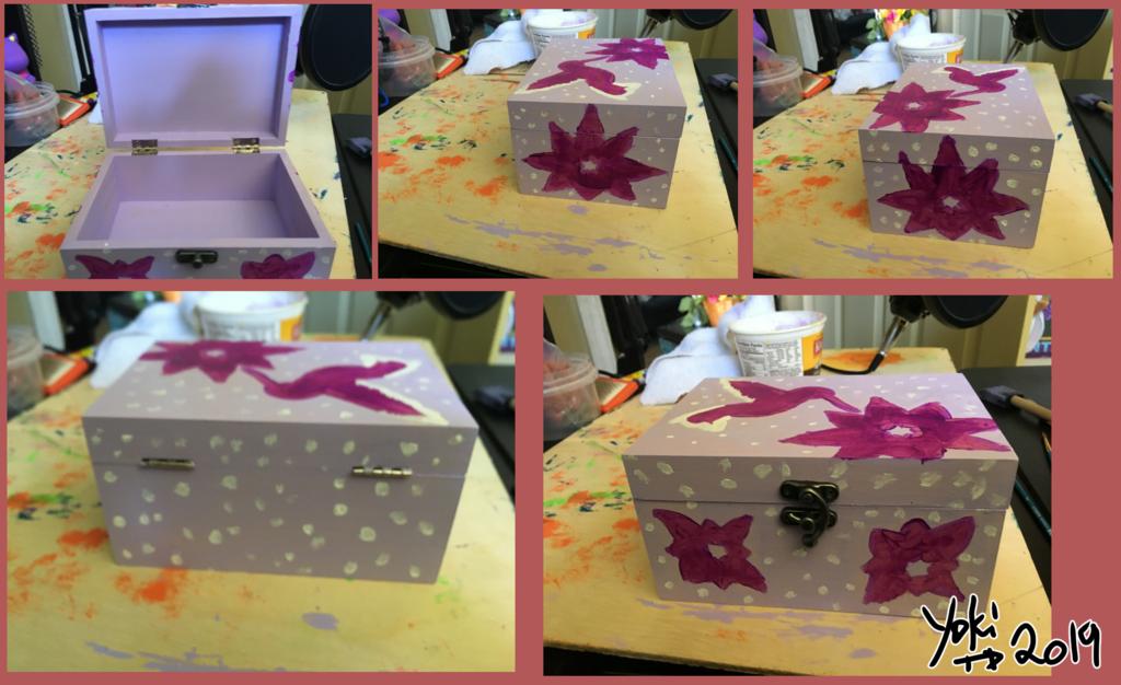 [G] Humming bird  Trinket Box