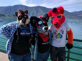 Furries at Lake Chelan