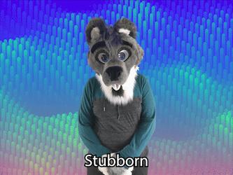 """Stubborn"" ASL gif"