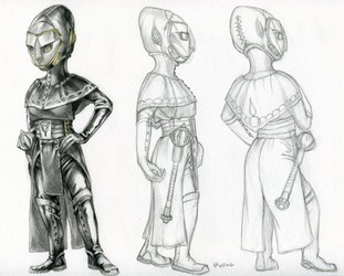 Dr. Leta armor concept turnaround