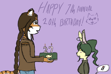 Happy 7th Annual 20th Bday Muki!