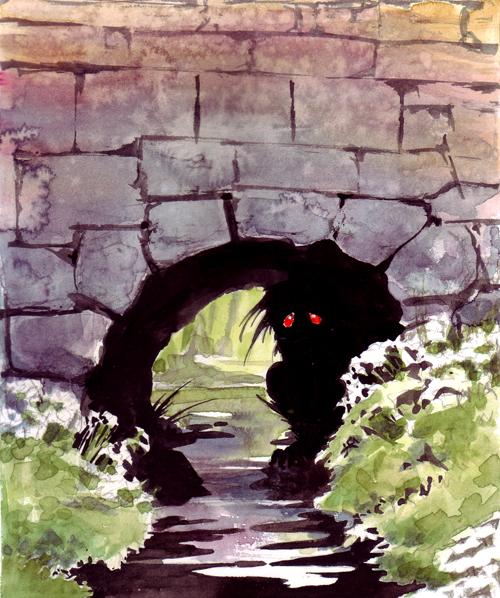 Sad Troll Under Bridge