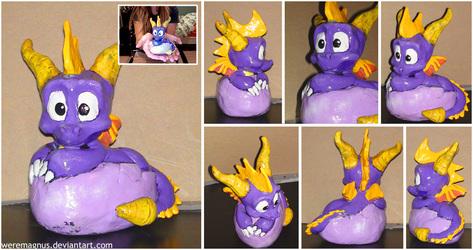Hatchling Spyro Sculpt