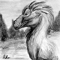 Miniart--Fluffy Tyrannosaur