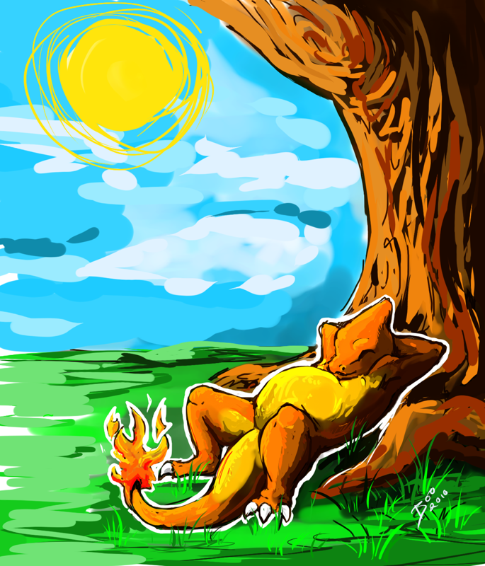 Basking Under the Summer Sun (General Vers.) - by FairyTails