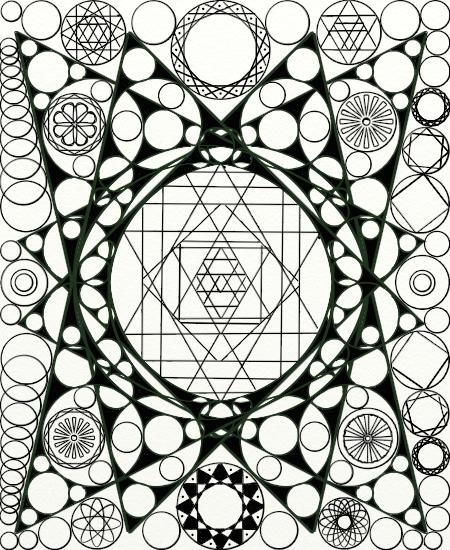 Most recent image: Mandala Thingy 2