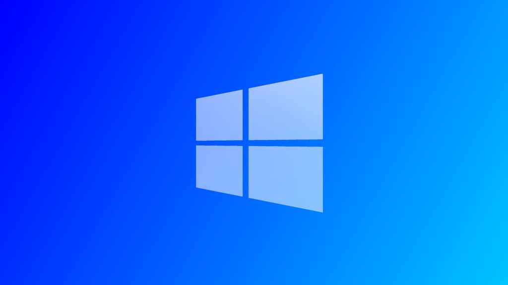 Windows 8.1 Blue Gradient Wallpaper